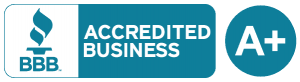 BBB Accredited Business Badge - A+ Rating